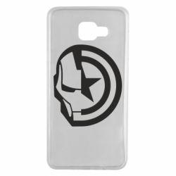Чохол для Samsung A7 2016 Iron Man and Captain America