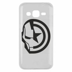 Чохол для Samsung J2 2015 Iron Man and Captain America
