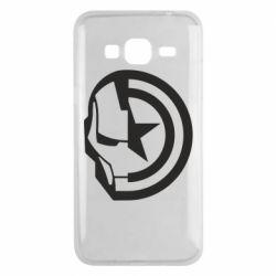 Чохол для Samsung J3 2016 Iron Man and Captain America