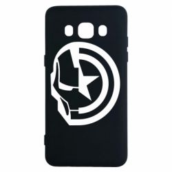 Чохол для Samsung J5 2016 Iron Man and Captain America