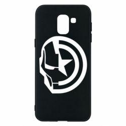 Чохол для Samsung J6 Iron Man and Captain America