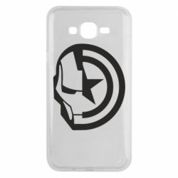 Чохол для Samsung J7 2015 Iron Man and Captain America