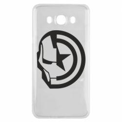 Чохол для Samsung J7 2016 Iron Man and Captain America