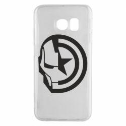 Чохол для Samsung S6 EDGE Iron Man and Captain America