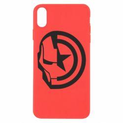 Чохол для iPhone Xs Max Iron Man and Captain America