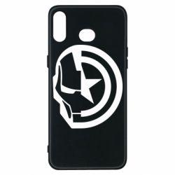 Чохол для Samsung A6s Iron Man and Captain America