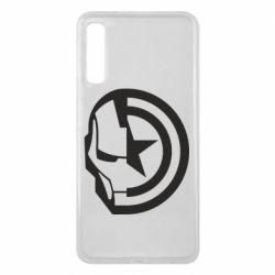 Чохол для Samsung A7 2018 Iron Man and Captain America