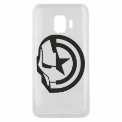 Чохол для Samsung J2 Core Iron Man and Captain America