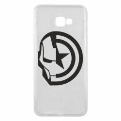 Чохол для Samsung J4 Plus 2018 Iron Man and Captain America