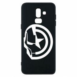 Чохол для Samsung J8 2018 Iron Man and Captain America