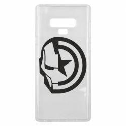 Чохол для Samsung Note 9 Iron Man and Captain America