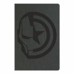 Блокнот А5 Iron Man and Captain America