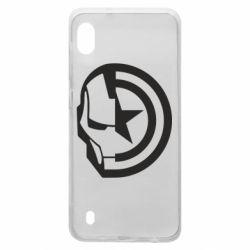 Чохол для Samsung A10 Iron Man and Captain America