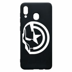 Чохол для Samsung A20 Iron Man and Captain America
