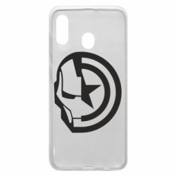 Чохол для Samsung A30 Iron Man and Captain America