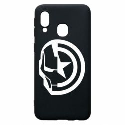 Чохол для Samsung A40 Iron Man and Captain America