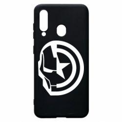Чохол для Samsung A60 Iron Man and Captain America