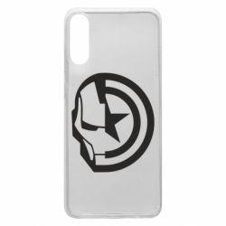 Чохол для Samsung A70 Iron Man and Captain America