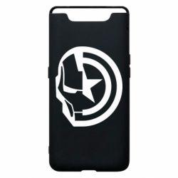 Чохол для Samsung A80 Iron Man and Captain America