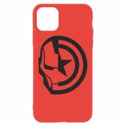 Чохол для iPhone 11 Iron Man and Captain America