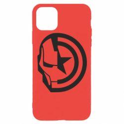 Чохол для iPhone 11 Pro Iron Man and Captain America