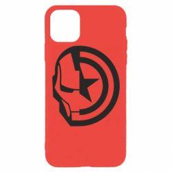 Чохол для iPhone 11 Pro Max Iron Man and Captain America