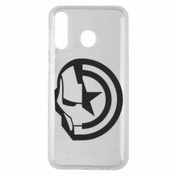 Чохол для Samsung M30 Iron Man and Captain America