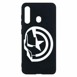 Чохол для Samsung M40 Iron Man and Captain America
