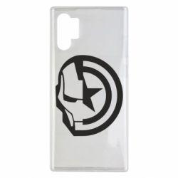 Чохол для Samsung Note 10 Plus Iron Man and Captain America