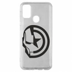 Чохол для Samsung M30s Iron Man and Captain America