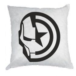 Подушка Iron Man and Captain America