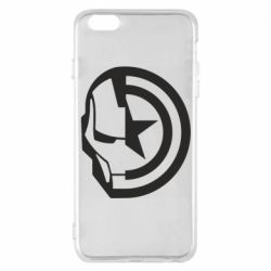 Чохол для iPhone 6 Plus/6S Plus Iron Man and Captain America