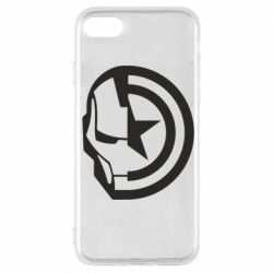 Чохол для iPhone 7 Iron Man and Captain America