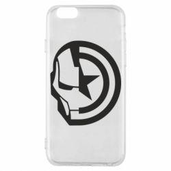 Чохол для iPhone 6/6S Iron Man and Captain America