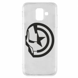 Чохол для Samsung A6 2018 Iron Man and Captain America