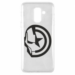 Чохол для Samsung A6+ 2018 Iron Man and Captain America