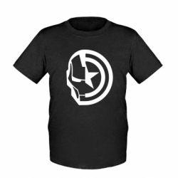 Дитяча футболка Iron Man and Captain America