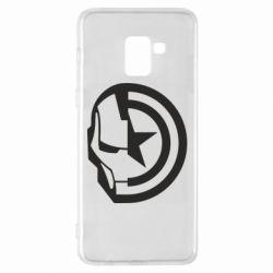 Чохол для Samsung A8+ 2018 Iron Man and Captain America
