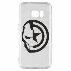 Чохол для Samsung S7 Iron Man and Captain America