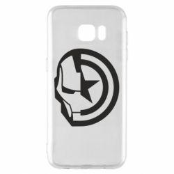 Чохол для Samsung S7 EDGE Iron Man and Captain America