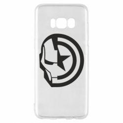 Чохол для Samsung S8 Iron Man and Captain America
