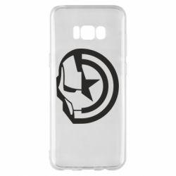 Чохол для Samsung S8+ Iron Man and Captain America
