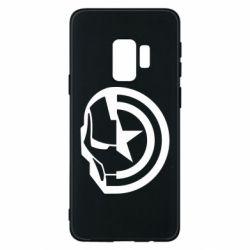 Чохол для Samsung S9 Iron Man and Captain America
