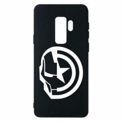 Чохол для Samsung S9+ Iron Man and Captain America