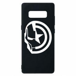 Чохол для Samsung Note 8 Iron Man and Captain America