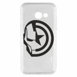 Чохол для Samsung A3 2017 Iron Man and Captain America