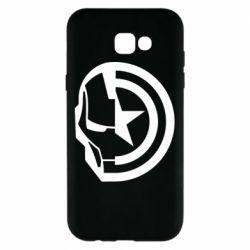 Чохол для Samsung A7 2017 Iron Man and Captain America