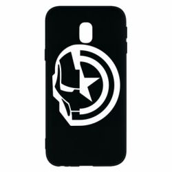 Чохол для Samsung J3 2017 Iron Man and Captain America