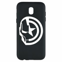 Чохол для Samsung J5 2017 Iron Man and Captain America