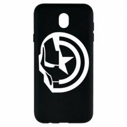 Чохол для Samsung J7 2017 Iron Man and Captain America
